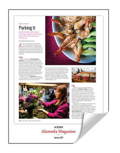Alameda Magazine 1-Page Article Reprint