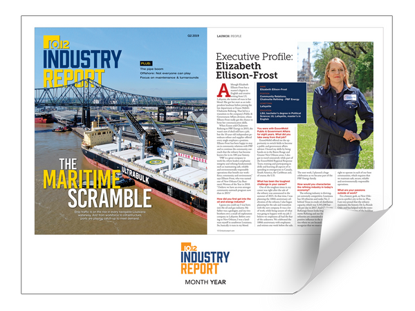 10/12 Industry Report Article & Cover Spread Reprints by NewsKeepsake