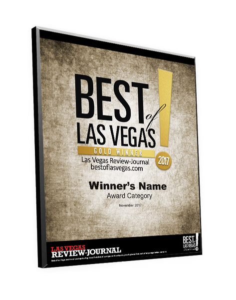 """Best of Las Vegas"" Award Plaque by NewsKeepsake"