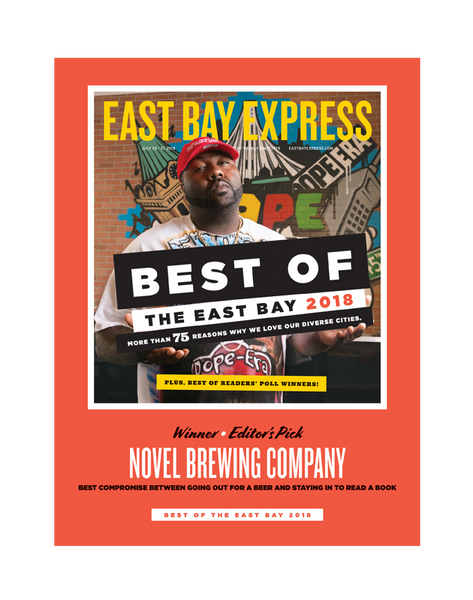 """Best of the East Bay"" Cover Award Banner by NewsKeepsake"