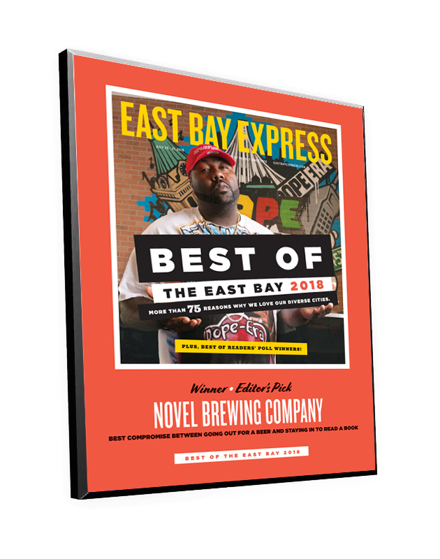 """Best of the East Bay"" Cover Award Plaques"