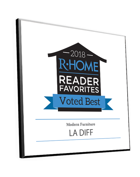 "R-Home ""Readers' Favorites"" Logo Award Plaque"