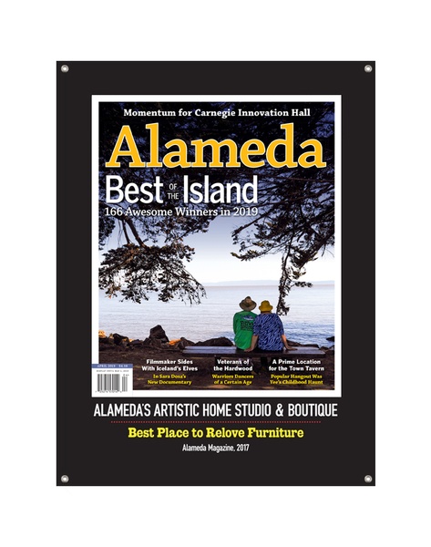 """Best of Alameda"" Cover Award Banner"