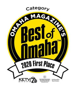 Best of Omaha Award - Large Window Decals