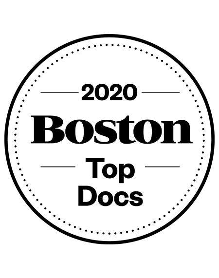 Boston Magazine Top Docs Window Decals