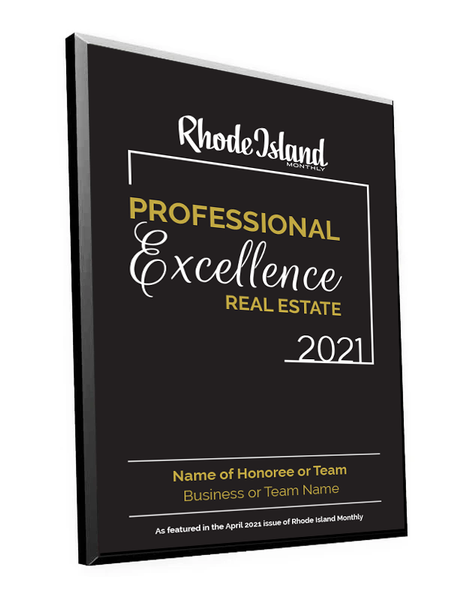 Professional Excellence in Real Estate Award Plaque by NewsKeepsake