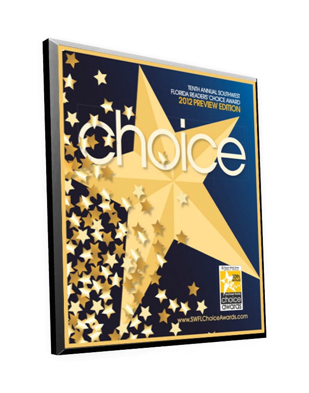 Naples Daily News Readers' Choice Plaque