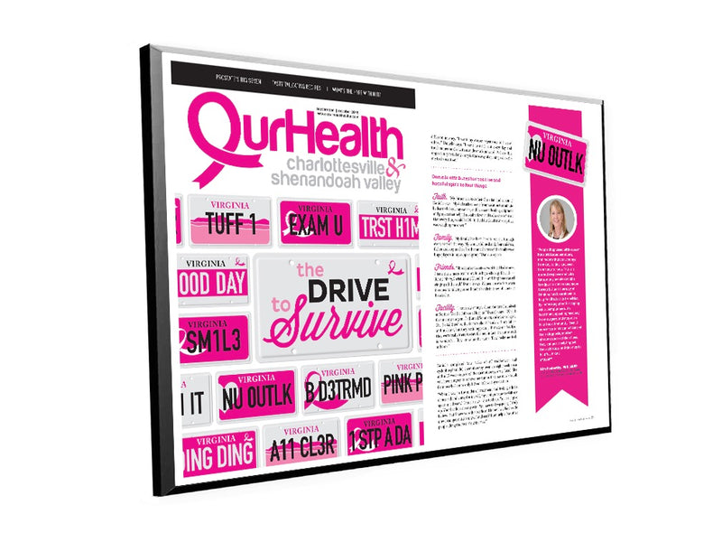 OurHealth Cover/Article Plaque