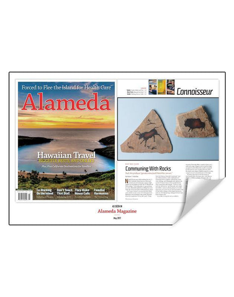 Alameda Magazine Article Spread Reprint