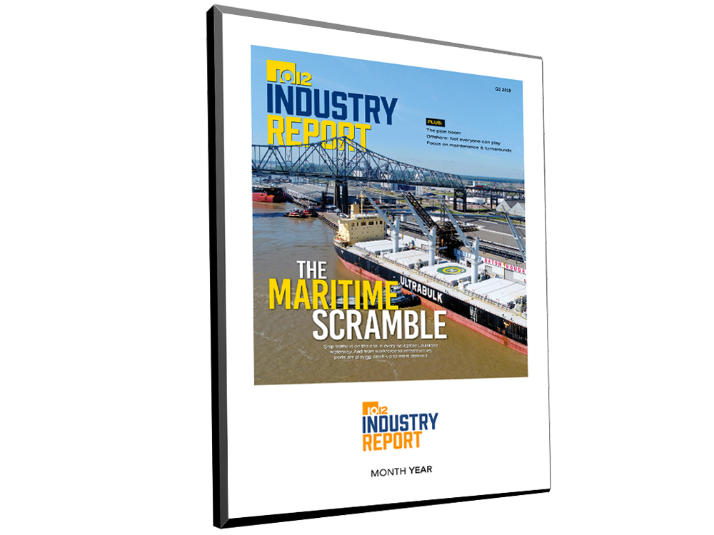 10/12 Industry Report Cover / Article Plaque