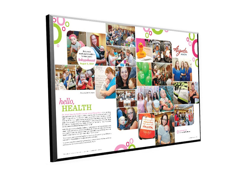 OurHealth Article Spread Plaque by NewsKeepsake