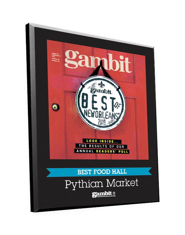 "Gambit ""Best of New Orleans"" Cover Award Plaque"