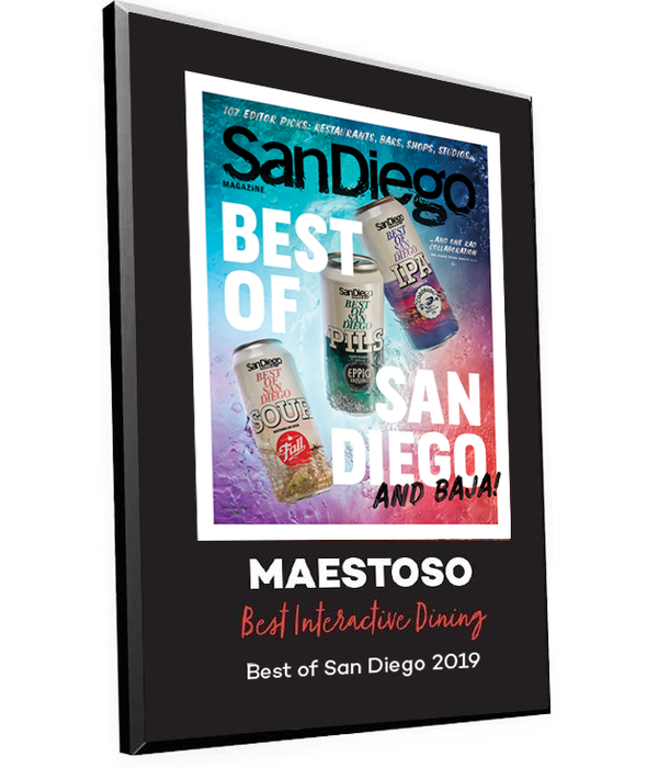 "San Diego Magazine ""Best of San Diego"" Award Plaque by NewsKeepsake"