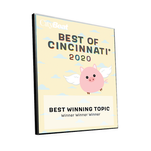 "CityBeat ""Best of Cincinnati"" Award Plaque"