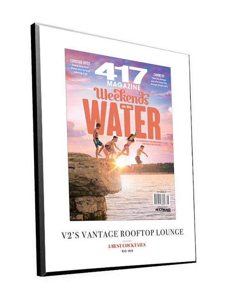 417 Magazine Cover Plaques by NewsKeepsake