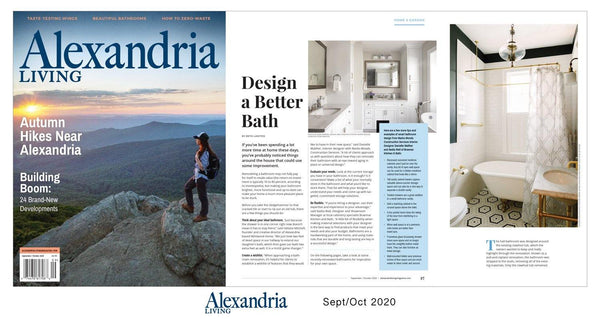 Alexandria Living Magazine Article Reprint by NewsKeepsake