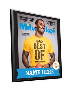 "Milwaukee Magazine ""Best Of"" Award Plaque"