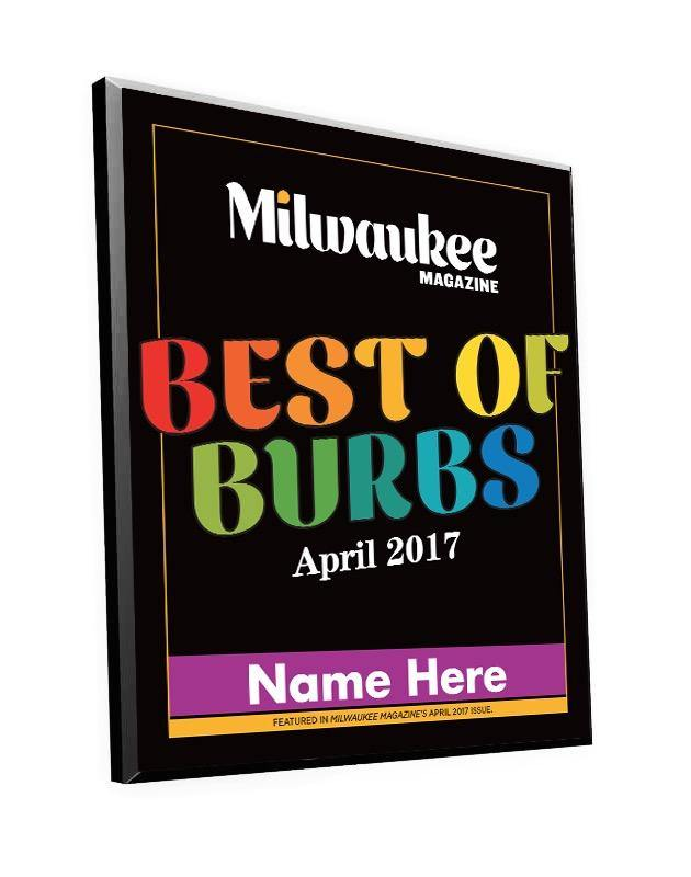 """Best Of Burbs"" Awards"