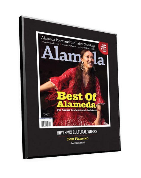 """Best of Alameda"" Cover Award Plaque by NewsKeepsake"