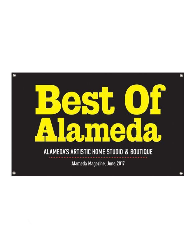 """Best of Alameda"" Award Banner"