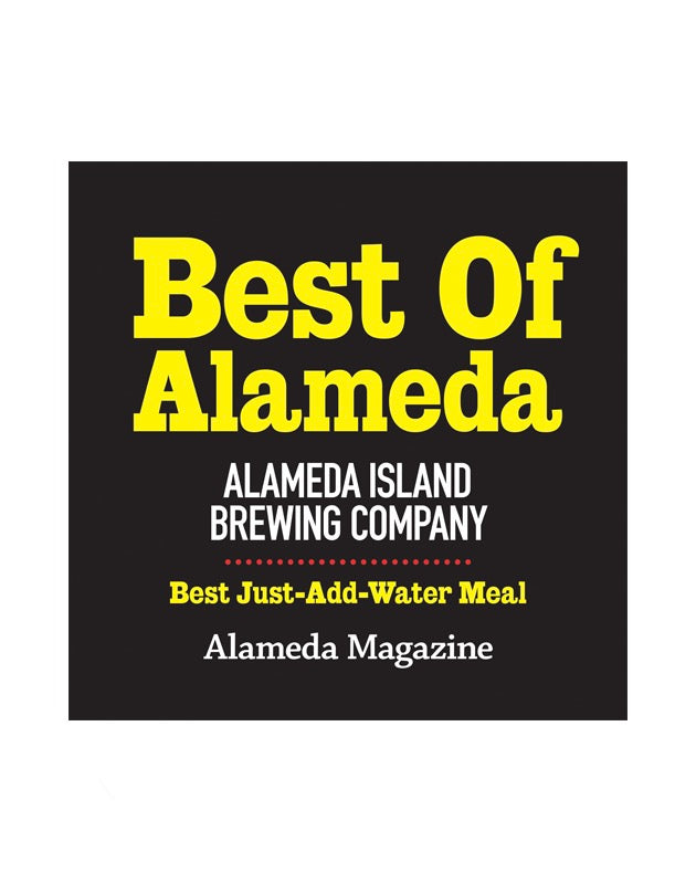 """Best of Alameda"" Award Cling"