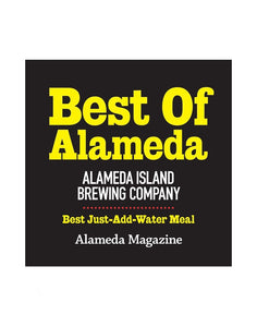"""Best of Alameda"" Award Cling by NewsKeepsake"
