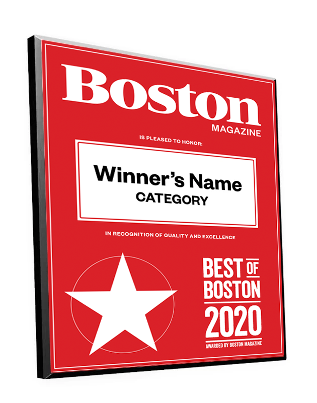 """Best of Boston"" Plaques"