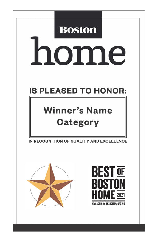 """Best of Boston Home"" Banners"