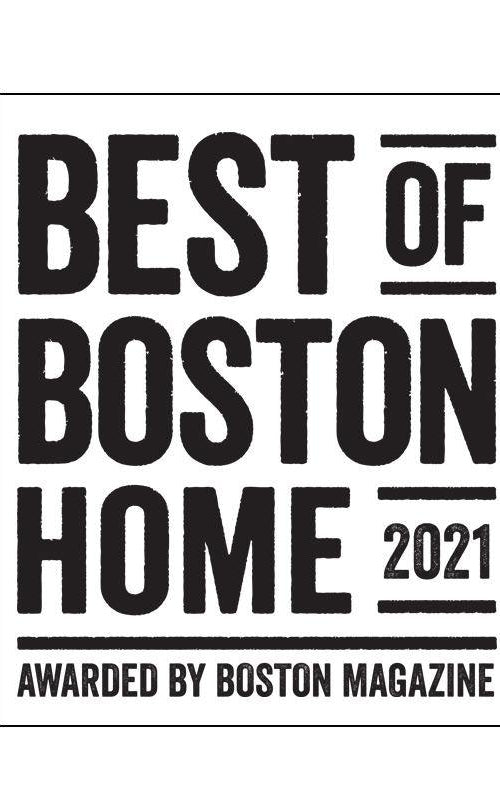 """Best of Boston Home"" Window Decal"
