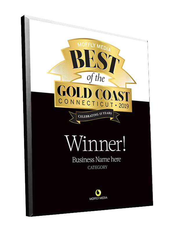 "Moffly Media ""Best of the Gold Coast"" Award Plaque"