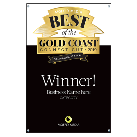 "Moffly Media ""Best of the Gold Coast"" Award Banner"