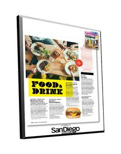 "San Diego Magazine ""Best of North County"" Article with Cover Plaque"
