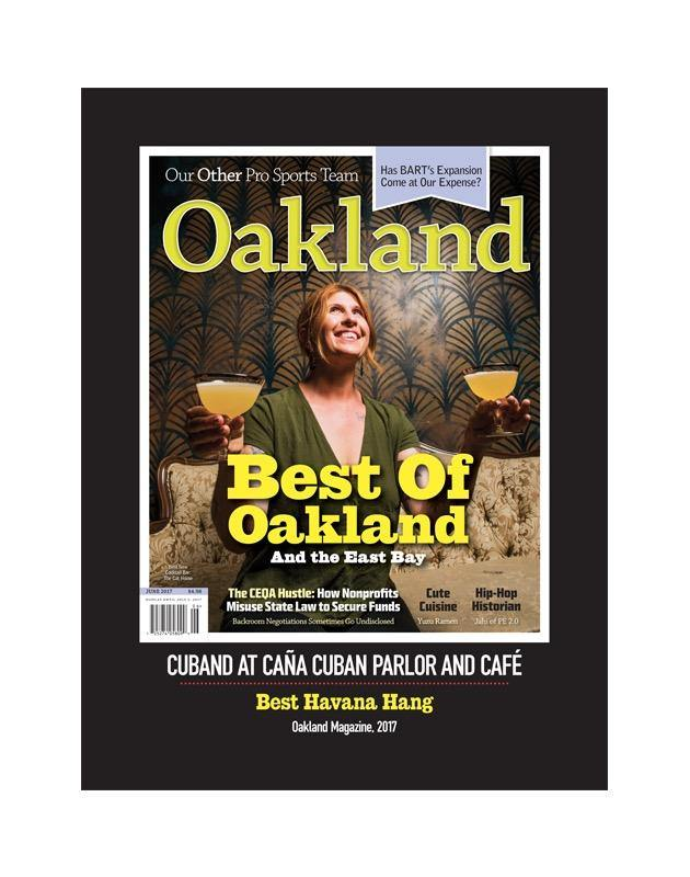 """Best of Oakland & the East Bay"" Cover Award Banner"