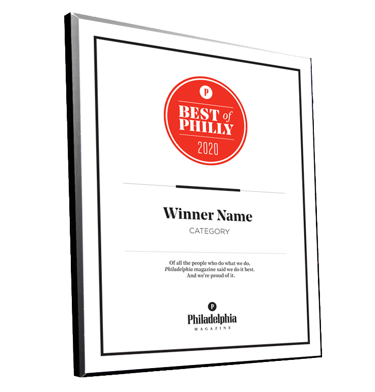 Best Of Philly 2021 Philadelphia magazine Best of Philly Plaques – NewsKeepsake