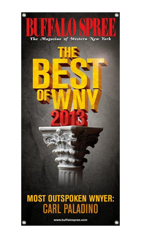 """Best of WNY"" Award Banner - 3' x 5' by NewsKeepsake"