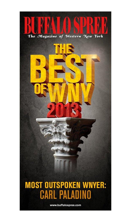 """Best of WNY"" Window Cling by NewsKeepsake"