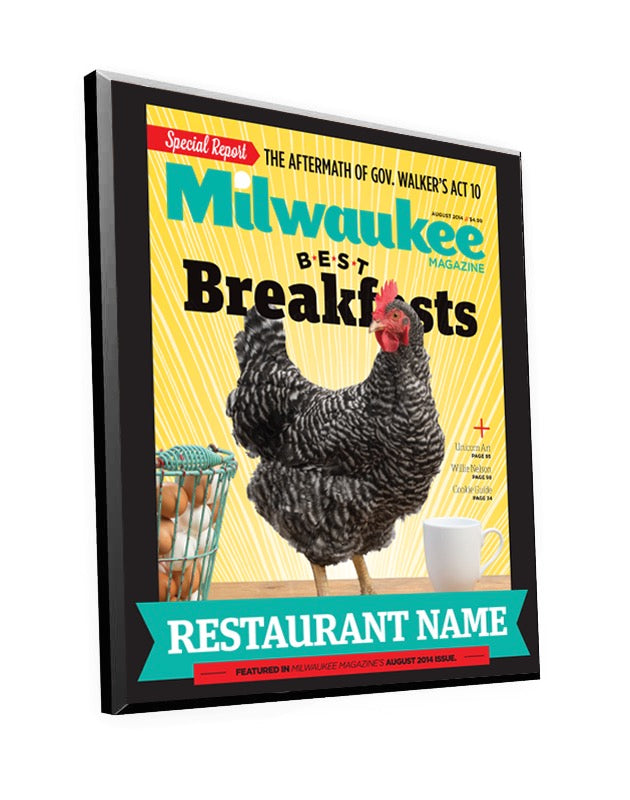 "Milwaukee Magazine ""Best Breakfasts"" Awards"