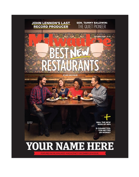 "Milwaukee Magazine ""Best New Restaurants"" Awards by NewsKeepsake"