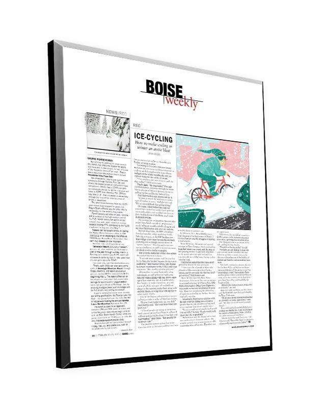 Boise Weekly Article Plaque