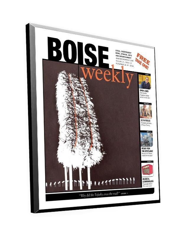 Boise Weekly Cover Plaque
