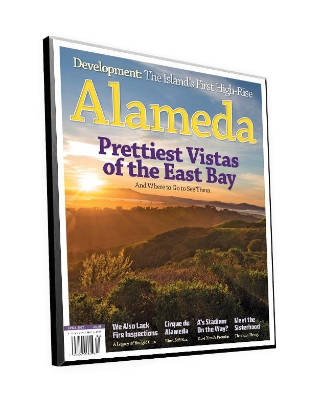 Alameda Magazine Cover Plaque