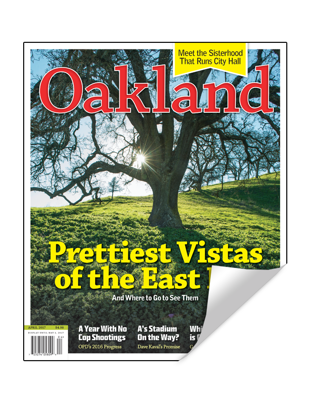 Oakland Magazine Cover Reprint by NewsKeepsake