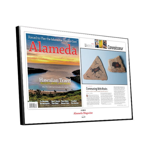 Alameda Magazine Article Spread Plaques by NewsKeepsake