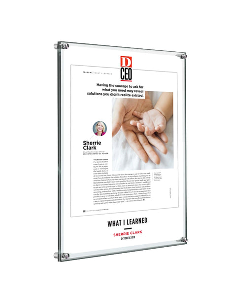 D CEO Single-Page Article Plaques