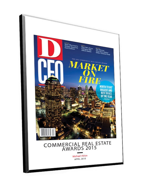 D CEO Cover Plaques by NewsKeepsake