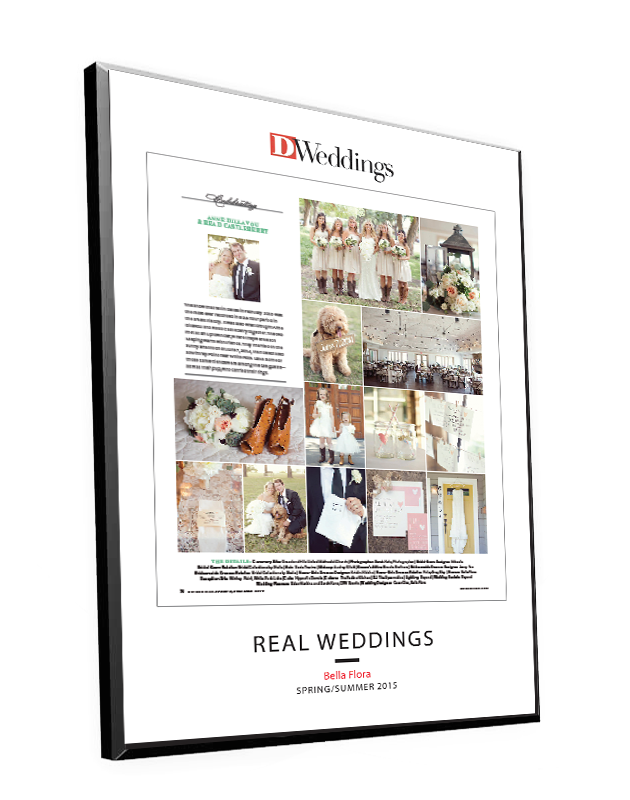 D Weddings Single-Page Article Plaques