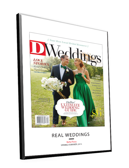 D Weddings Cover Plaques