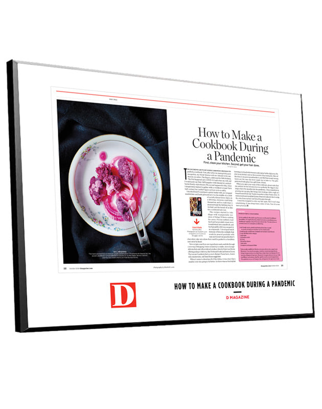 D Magazine Article Spread Plaques by NewsKeepsake