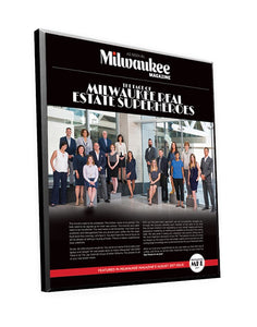 "Milwaukee Magazine ""FACES of MKE"" Decal Plaques & Window Cling"