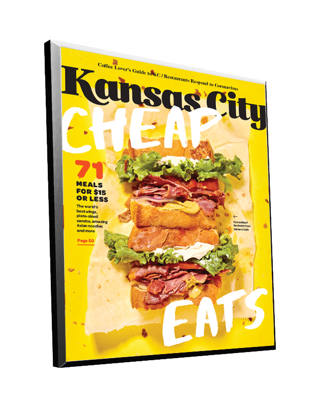 Kansas City Magazine Cover Plaque by NewsKeepsake